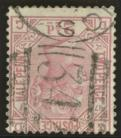 1873 2½d Rosy mauve SG 141 Plate 17 Variety inverted watermark