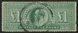 1902 £1 Green London forgery
