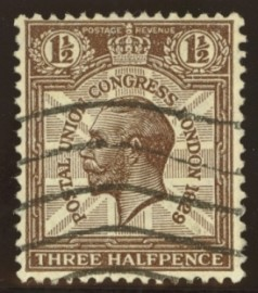 1929 1½d PUC Variety 1829 for 1929